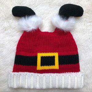 Upside Down Christmas Santa Hat Toddler size 2T